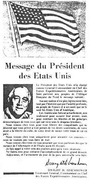 Message du president des etats unis