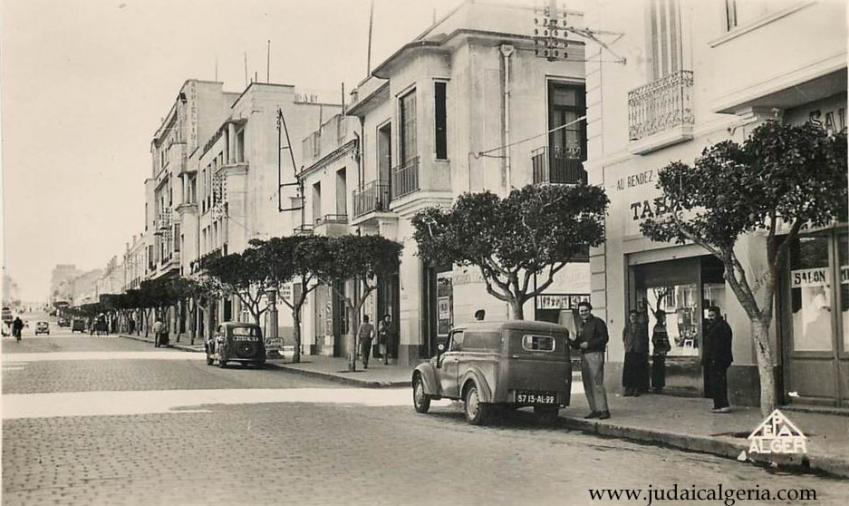 Mostaganem avenue anatole france