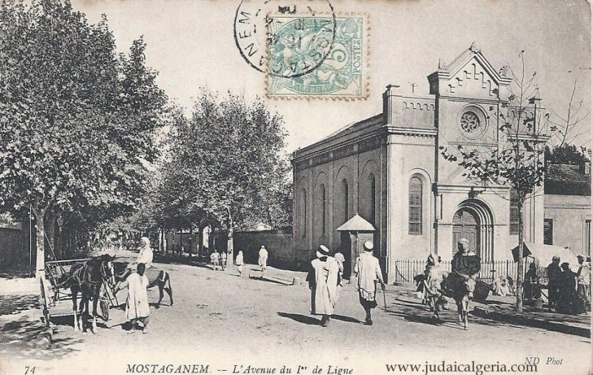 Mostaganem avenue du 1er de ligne
