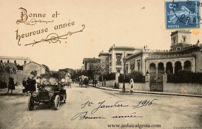 Mostaganem bonne annee 1916