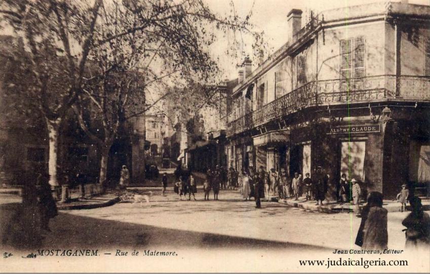 Mostaganem rue matemore