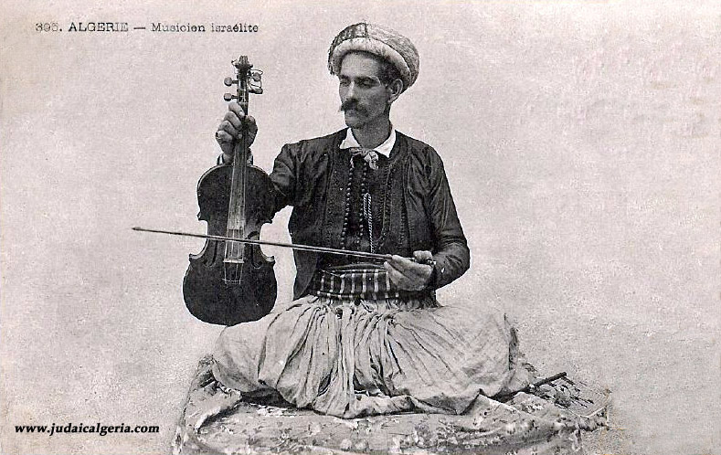 Musicien israelite 1