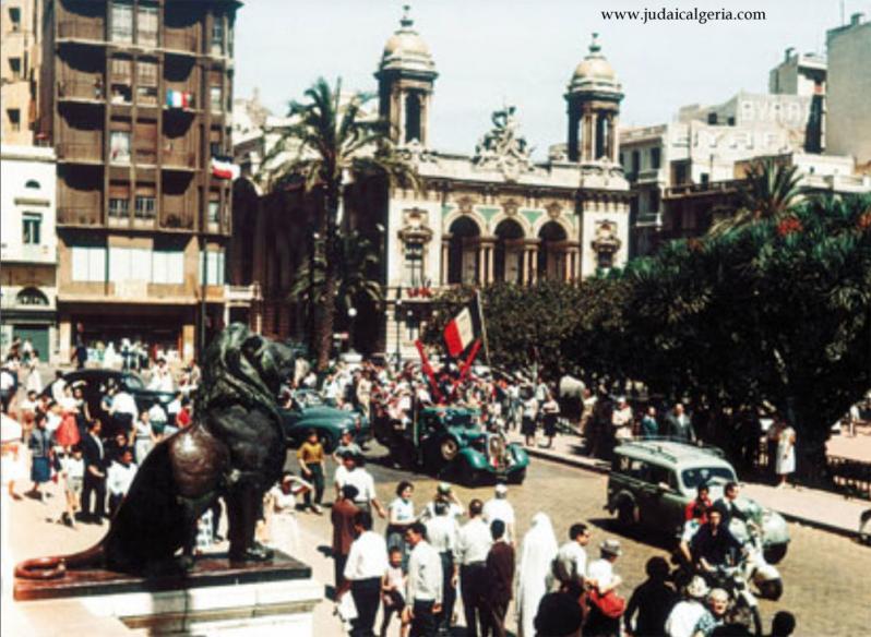Oran 14 juillet 1960 place d armes