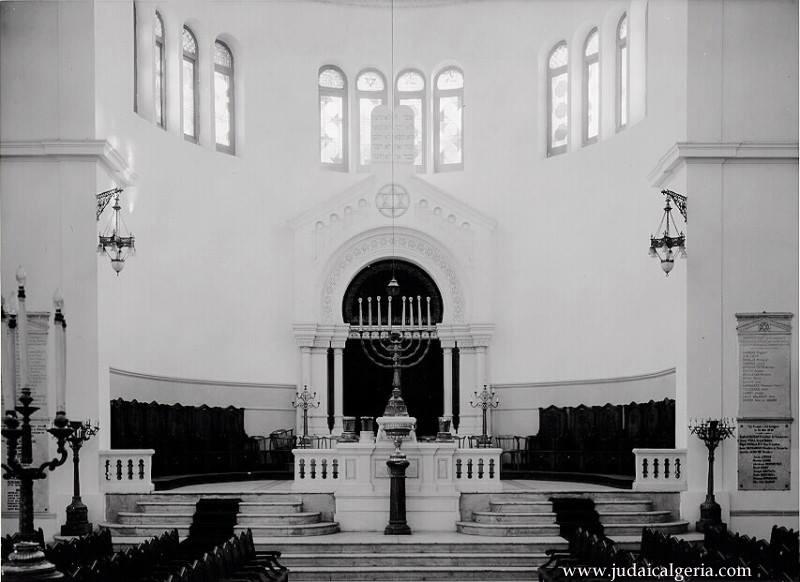 Oran interieur de la grande synagogue 2