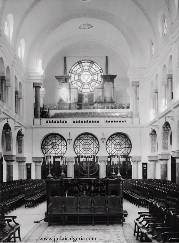 Oran interieur de la grande synagogue