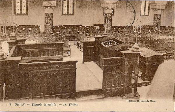 Oran la theba de la synagogue