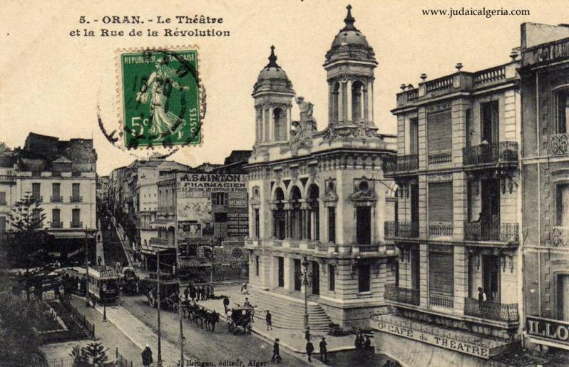 Oran le theatre 1911