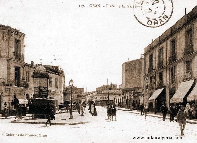 Oran place de la gare
