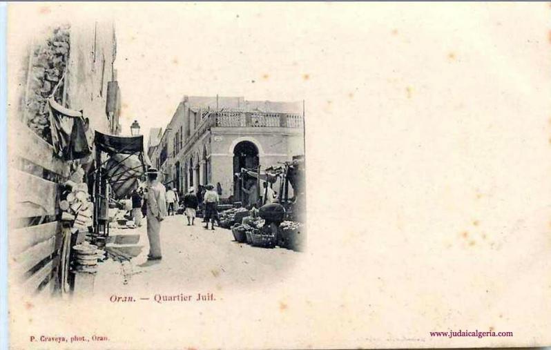 Oran quartier juif place blandan