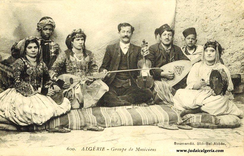 Orchestre et musiciens juifs d algerie 1904