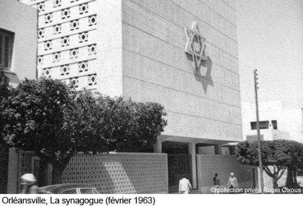 Orleanville la nouvelle synagogue
