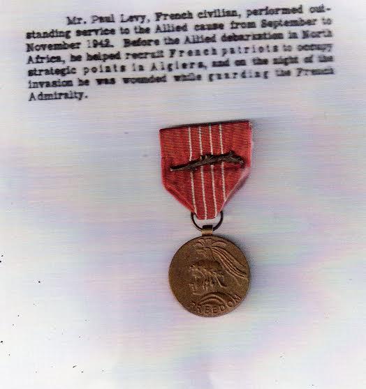 Paul levi medaille