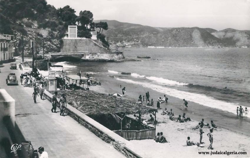Philippeville la plage de rusicade 1956