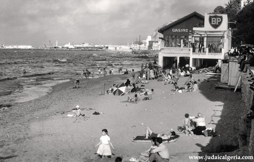 Philippeville la plage en 1951