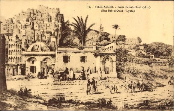 Porte de bab el oued 1830