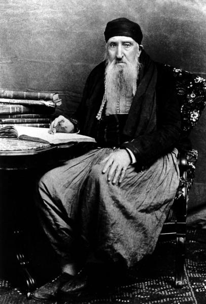 Rabbin abraham enkaoua mascara 1880