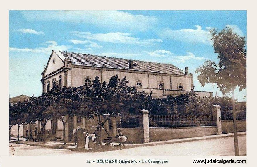 Relizane la synagogue 1