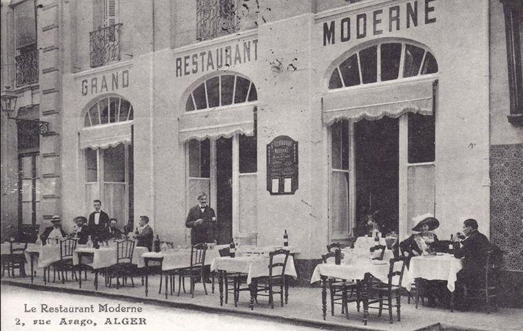 Restaurant moderne