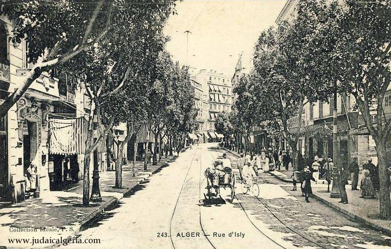 Rue d isly 19eme siecle
