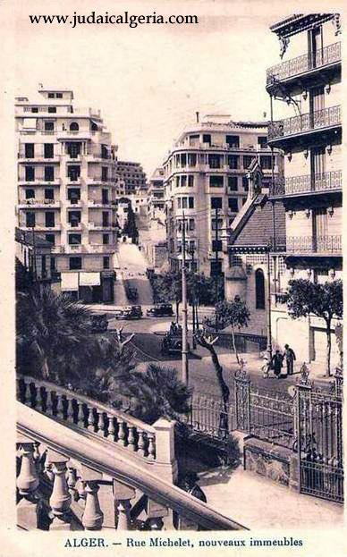 Rue michelet eglise anglicane escaliers du parc de galland