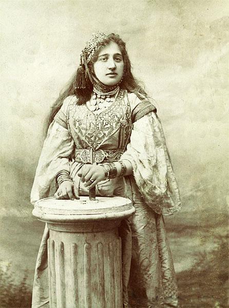 Sarah benzacar alger vers 1900