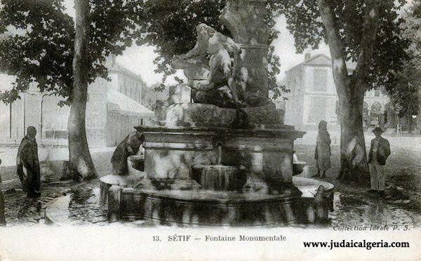 Setif fontaine monumentale