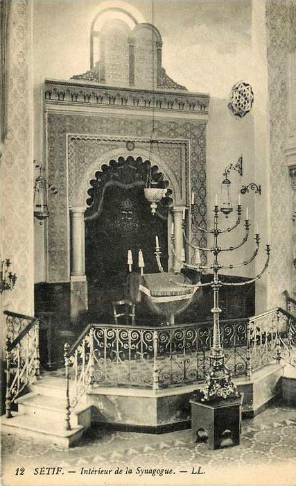 Setif interieur de la synagogue 3