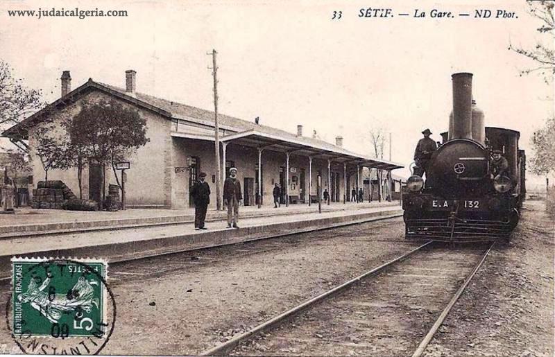 Setif la gare 1902