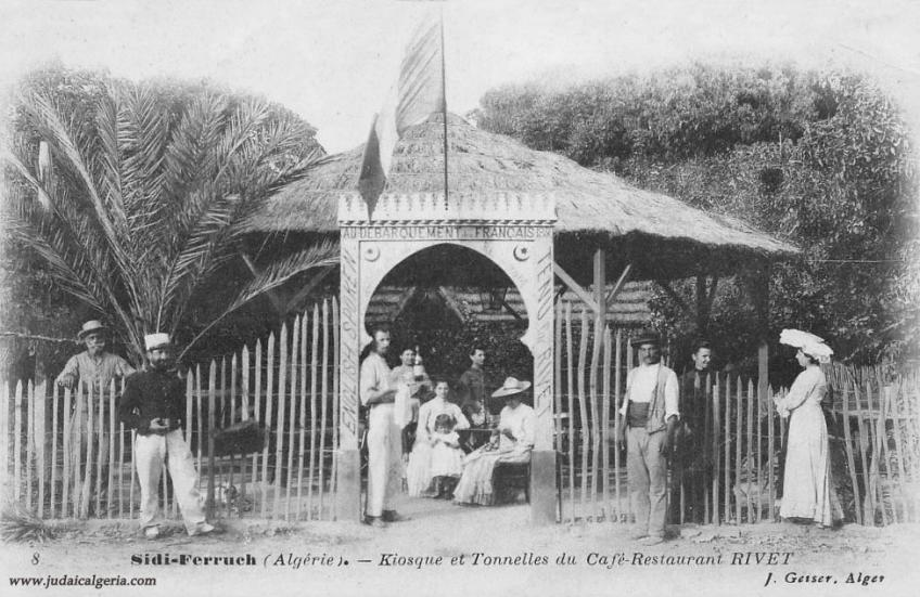 Sidi ferruch cafe au debarquement des francais