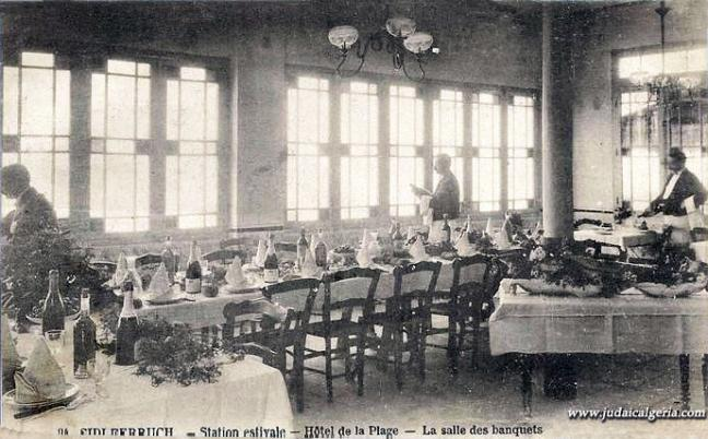 Sidi ferruch hotel de la plage salle des banquets