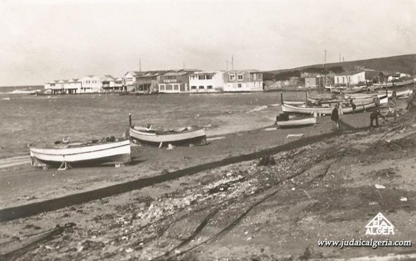 Sidi ferruch la plage ouest