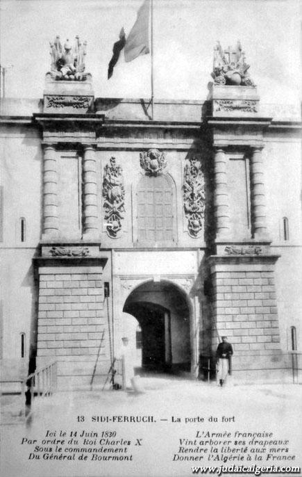 Sidi ferruch la porte du fort