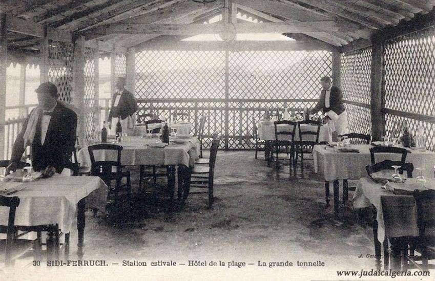 Sidi ferruch restaurant hotel de la plage