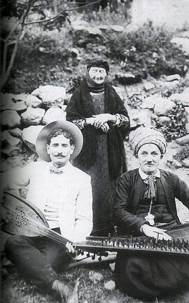 Tlemcen musiciens dans le jardin du rab