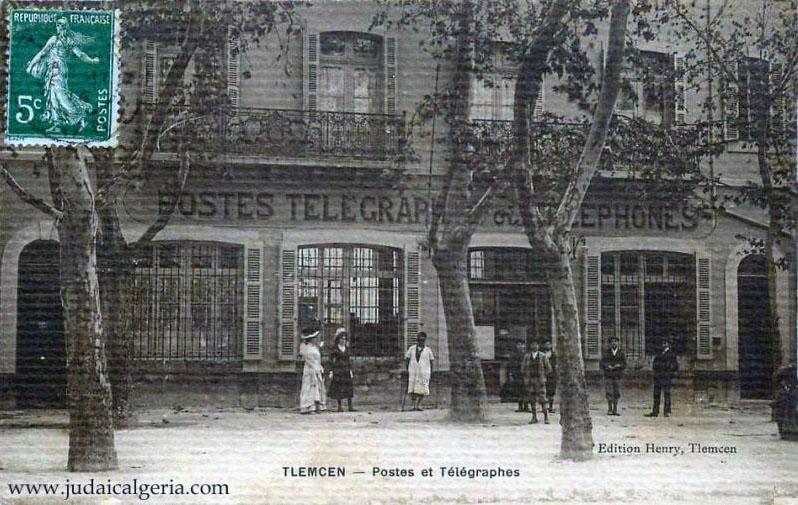 Tlemcen postes et telegraphe