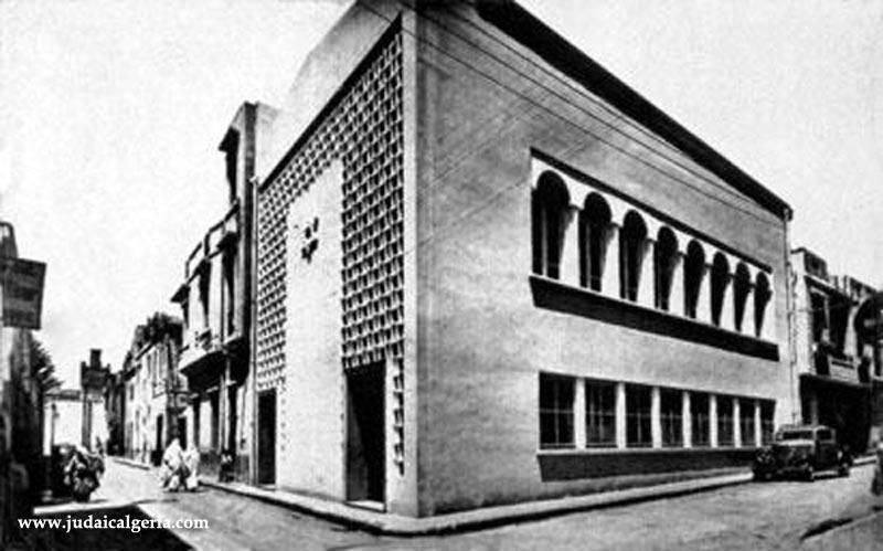 Tlemcen la synagogue 1