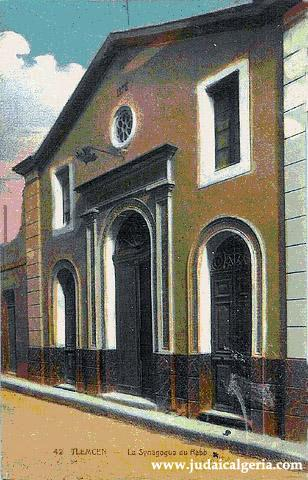 Tlemcen la synagogue du rabb 1