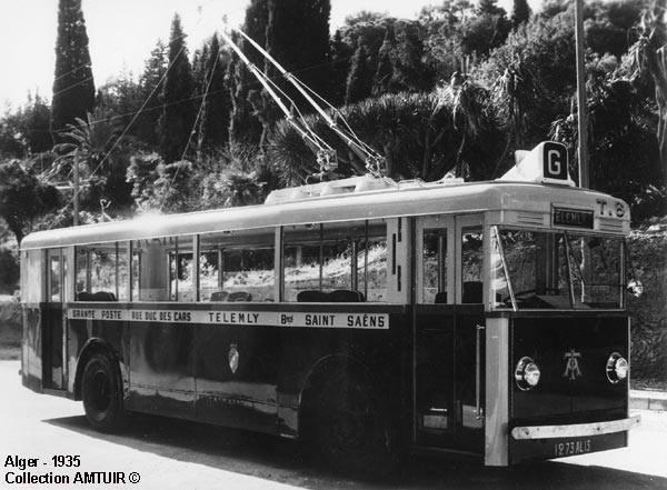 Trolley ligne g grande poste telemly
