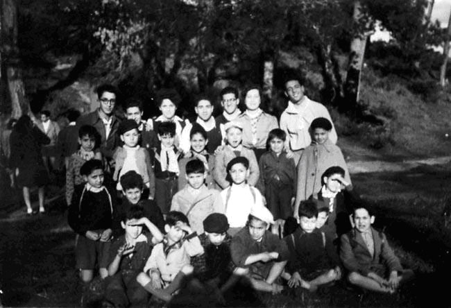 Troupe de leon cohen 1946