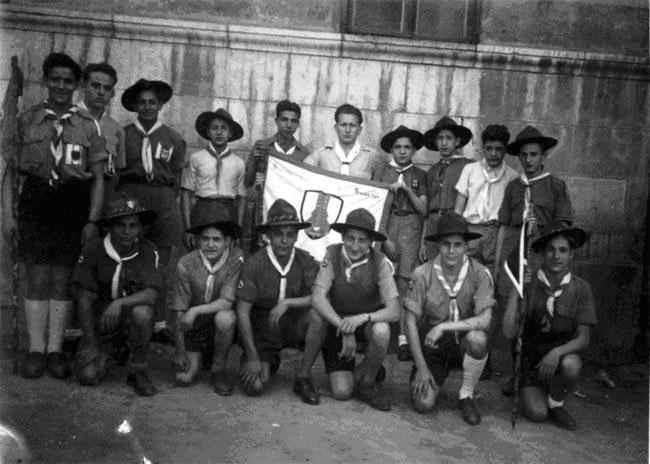 Troupe de robert munnich 1947