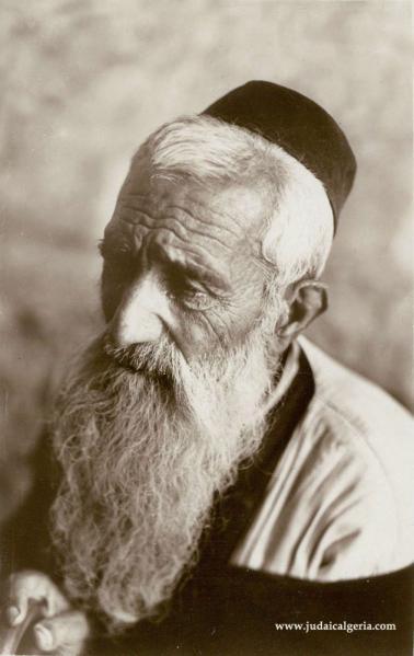 Vieil homme juif d algerie 1930