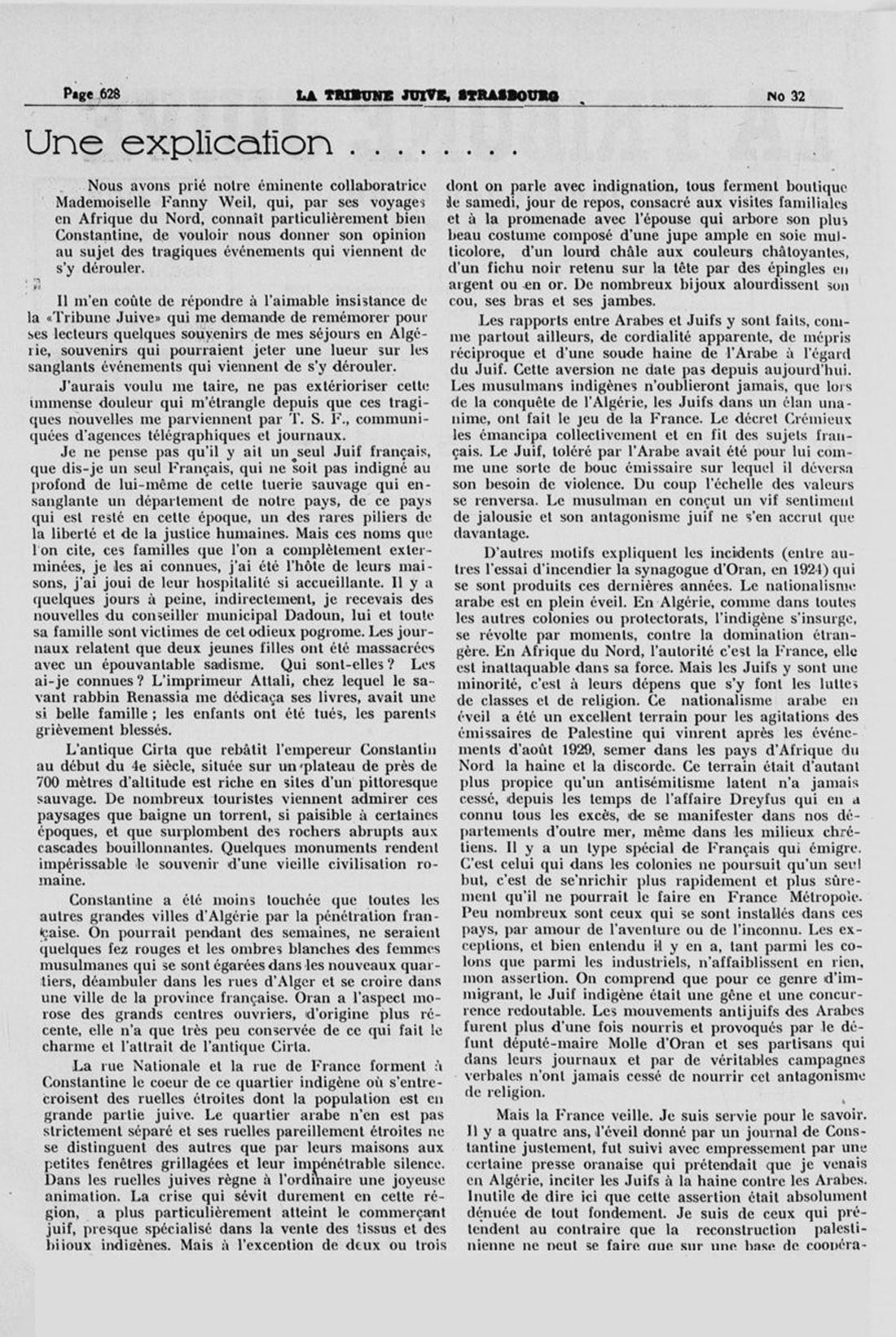2 le pogrom de constantine 5 aout 1934