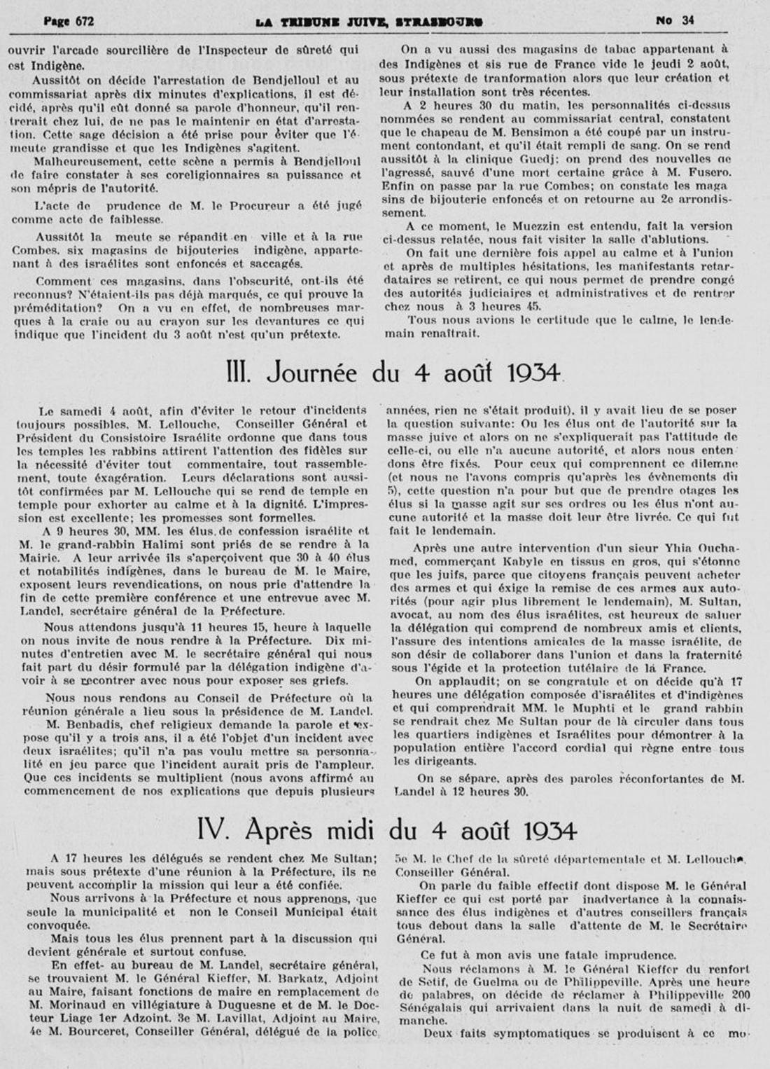 6 le pogrom de constantine 5 aout 1934