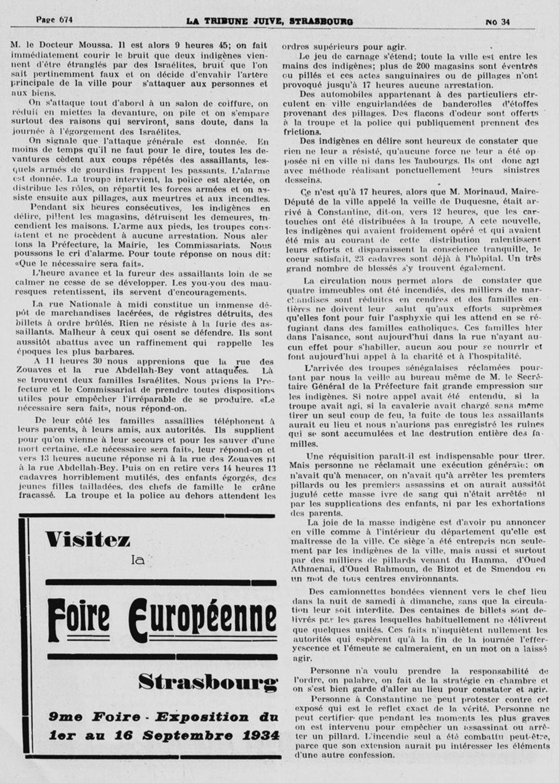 8 le pogrom de constantine 5 aout 1934