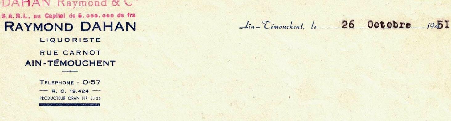 Ain temouchent document signe d un commercant juif 1