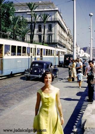 Alger 1954 bd de la republique