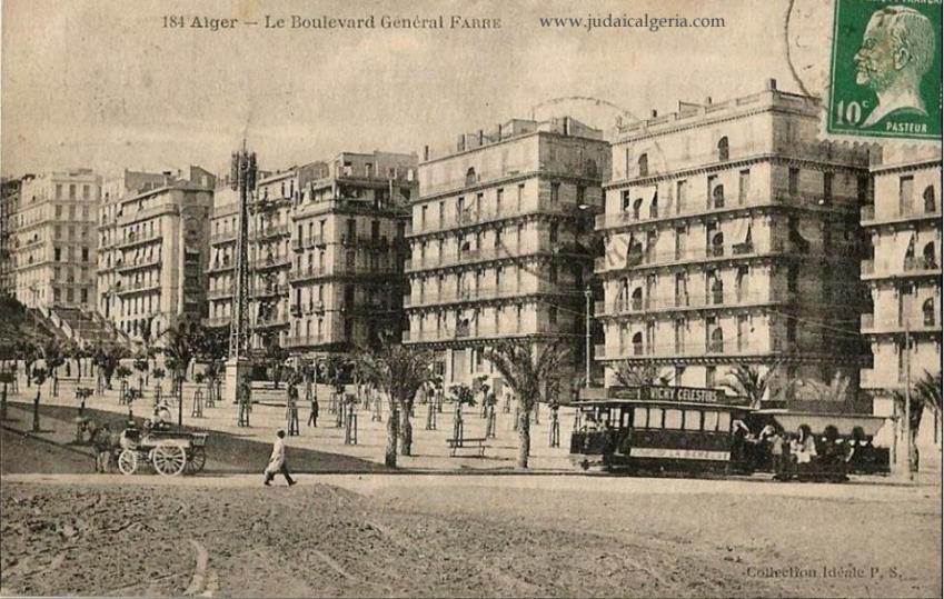 Alger bab el oued bd general farre 1920
