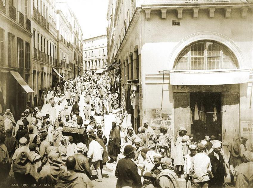Alger bab el oued rue randon 1900 autre vue
