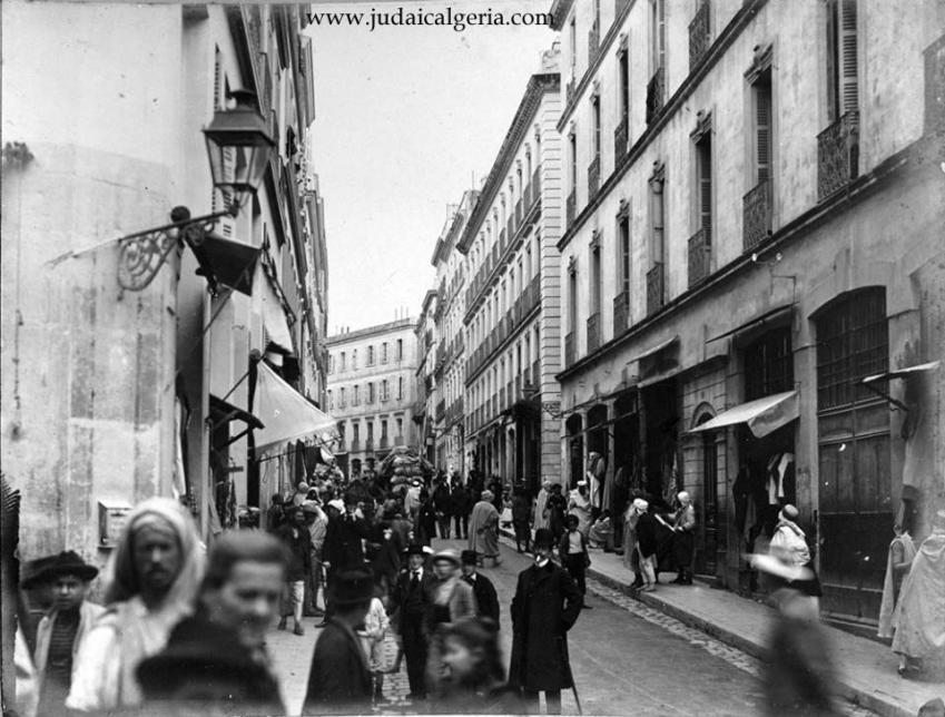 Alger bab el oued rue randon 1900