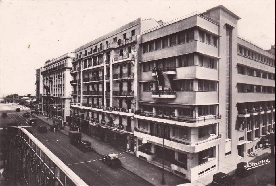 Alger boulebard baudin 1930